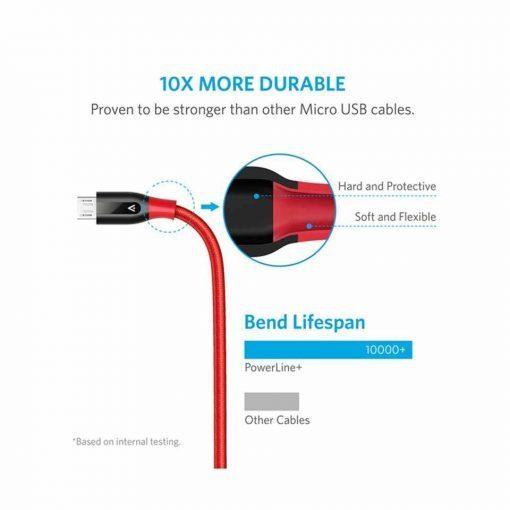 anker powerline+ micro usb, anker powerline+, anker micro usb cable, 3ft,3ft,anker powerline+,anker powerline+,anker powerline micro usb,micro usb dimensions,indestructible micro usb cable,anker micro usb cable,anker micro usb,micro usb doc,anker micro usb,anker powerline micro usb (6ft),anker nylon-braided micro-usb cable,powerline+ RedoUSB Cable Red