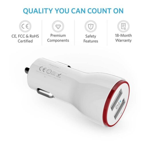 anker powerdrive 2, anker car charger