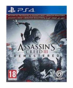 Assassin's Creed 3 Remastered PS4,assassin's creed 3 remastered