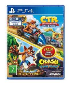 Crash Game Bundle PS4,Crash Game Bundle