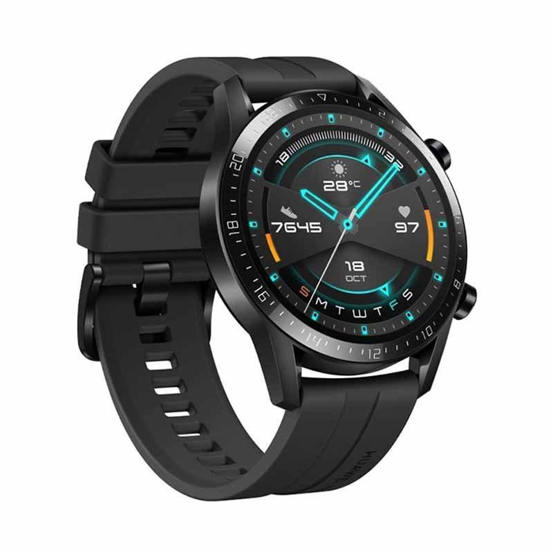 Huawei Smart Watch GT2 Black.ساعة هواوي الذكية