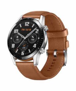 Huawei Smart Watch GT2 Brown,ساعة هواوي الذكية
