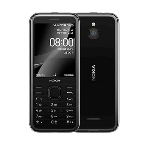 Nokia 8000 4G, Nokia 8000 Black, Nokia 8000